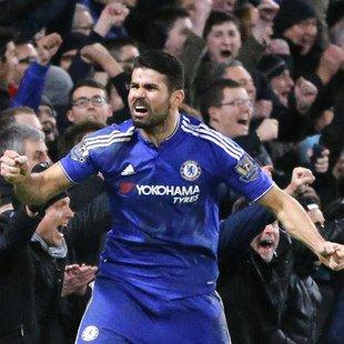 Costa rettet Chelsea gegen ManU in letzter Minute (Bild: AP)