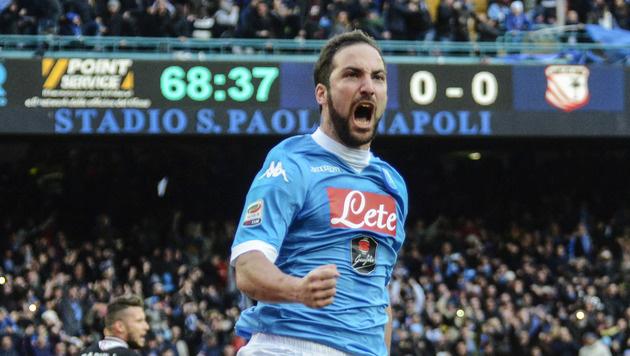 Napoli jubelt! Juventus steigert Klub-Siegesrekord (Bild: AP)