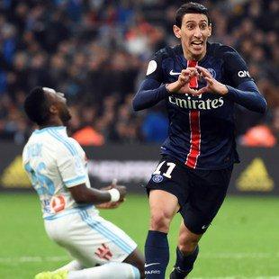 Paris SG unschlagbar! Auch Marseille 2:1 besiegt (Bild: AFP-LICENSORS)