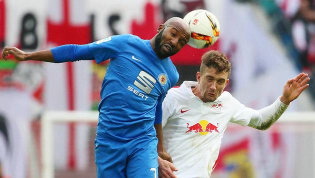 Stefan Ilsanker feierte mit RB Leipzig einen 2:0-Sieg - der Aufstieg scheint sicher. (Bild: GEPA pictures)