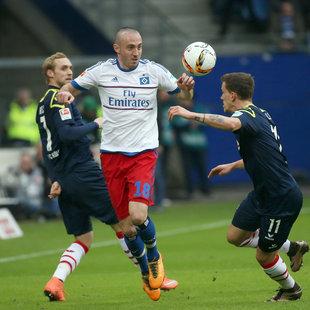 "St�gers ""Narren"" erk�mpfen Punkt beim HSV (Bild: APA/dpa/Christian Charisius)"