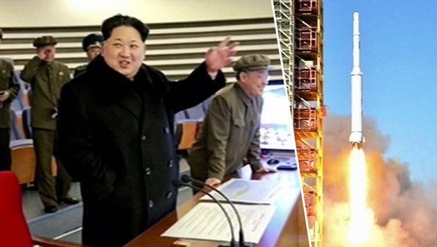 UN-Sanktionen gegen Nordkorea deutlich verschärft (Bild: APA/AFP/NORTH KOREAN TV/YONHAP)