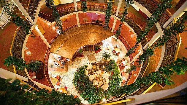 Das Luxus-Hotel Lotus feiert heuer 20-Jahr-Jubiläum. (Bild: Reinhard Holl)