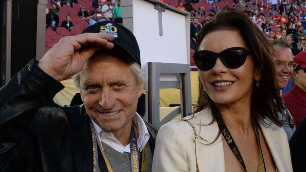 Michael Douglas und Catherine Zeta-Jones (Bild: AFP)