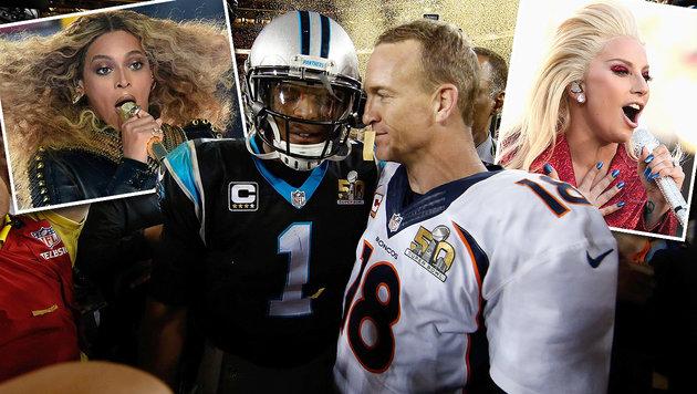 Denver Broncos gewinnen Super Bowl 2016 (Bild: PA/AFP/GETTY IMAGES, APA/AFP)