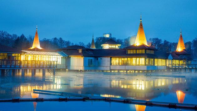 Das Heilbad Hévíz bietet Entspannung pur. (Bild: Reinhard Holl)