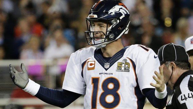 Peyton Manning bislang außer Form (Bild: AP)