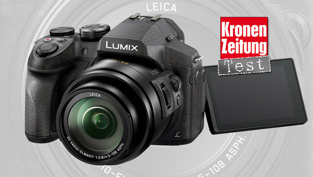 Panasonic Lumix FZ300: Zoom-Kraftprotz im Test (Bild: Panasonic)