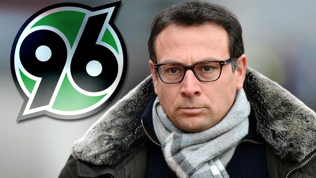 Hannover-Geschäftsführer Martin Bader (Bild: GEPA, hannover96.de)