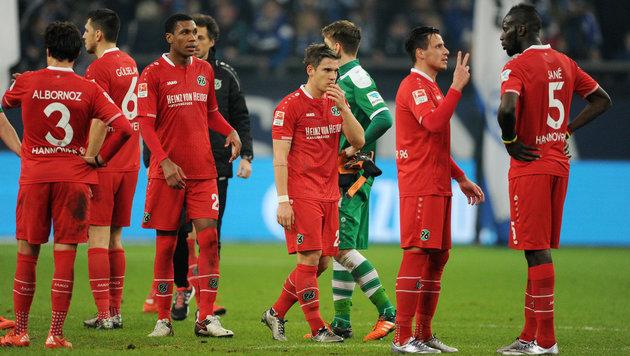 Hannover liegt in der deutschen Bundesliga derzeit am Tabellenende. (Bild: GEPA)