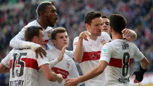 Stuttgart will im Cup gegen Dortmund �berraschen (Bild: APA/dpa/Fredrik Von Erichsen)