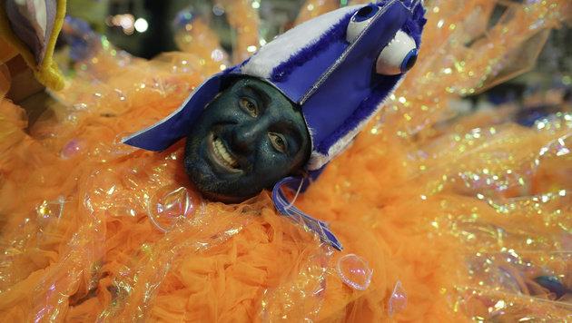 Manche Kostüme sind auf den ersten Blick nicht leicht zu identifizieren. (Bild: ASSOCIATED PRESS)