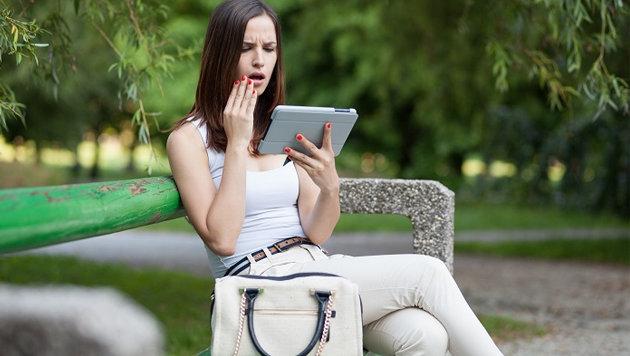 Wenn Sexting-Fotos an die Öffentlichkeit gelangen, folgt das böse Erwachen. (Bild: kids.kaspersky.com)