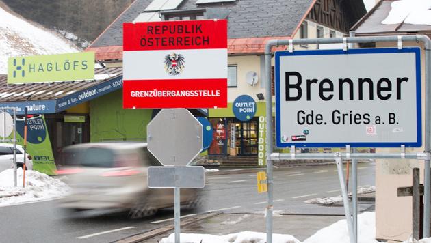 Faymann bei Renzi: Streit um Grenzzaun am Brenner (Bild: APA/EXPA/Johann Groder)