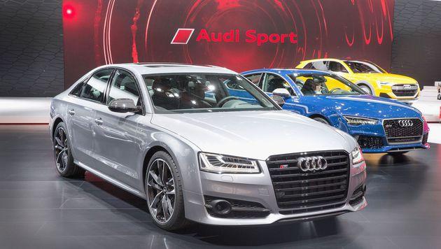Audi spendiert ein Mietwagenservice für ein ganzes Jahr im Wert von 45.000 Dollar. (Bild: APA/AFP/GETTY IMAGES/SCOTT OLSON)