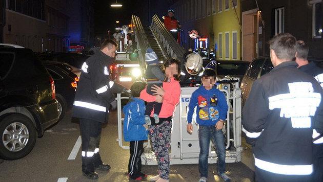 31 Verletzte bei Großbrand in Wien-Favoriten (Bild: MA 68 Lichtbildstelle)