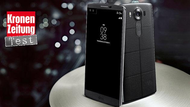 LG V10: Doppel-Moppelchen mit Profil (Bild: LG)