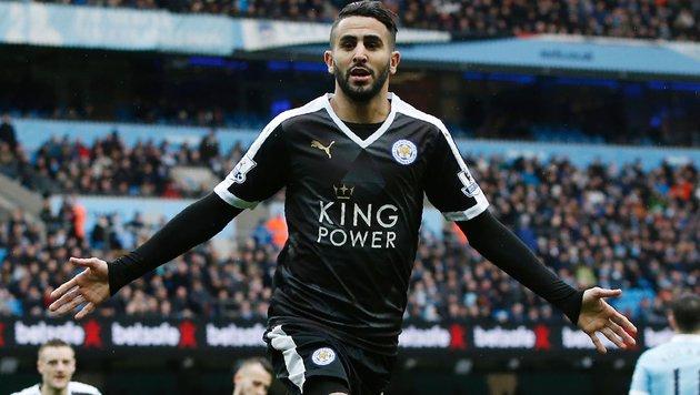 Leicester kann Fan Riesen-Wettgewinn bescheren (Bild: APA/AFP/ADRIAN DENNIS)