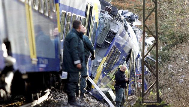 Menschliches Versagen f�hrte zu fatalem Zug-Crash (Bild: APA/dpa/Uwe Lein)