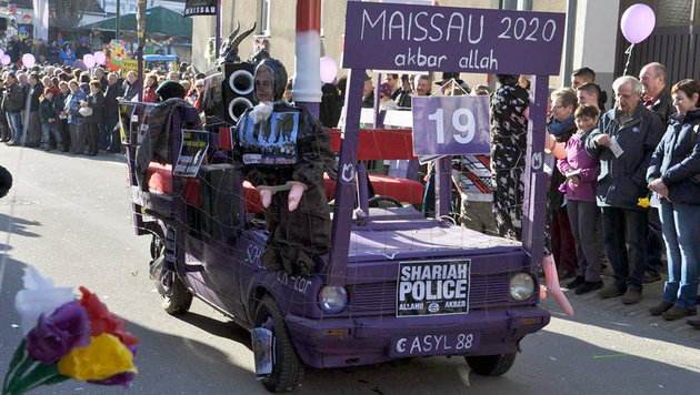 """""""Shariah Police"""" wird Fall f�r Verfassungsschutz (Bild: twitter.com/streitapfel)"""