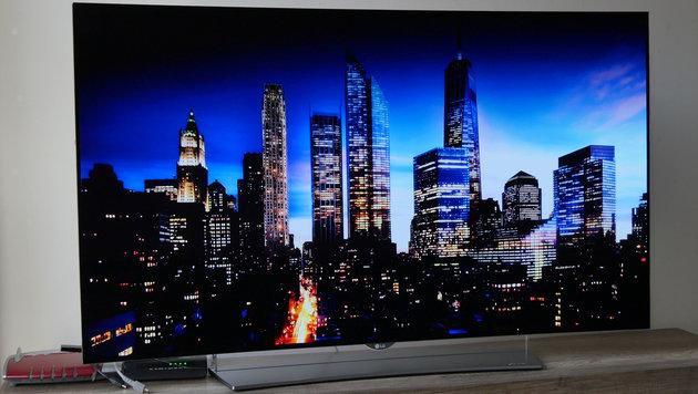Ist viel Schwarz im Spiel, ist LGs OLED-TV 55EG96 in seinem Element. (Bild: Dominik Erlinger)