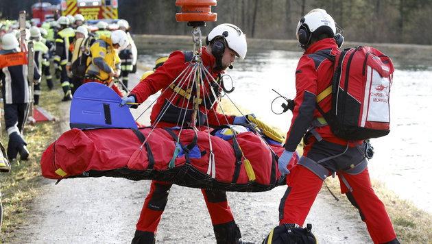 Unvorstellbar: Opfer filmte Minuten nach Zug-Crash (Bild: APA/dpa/Uwe Lein)