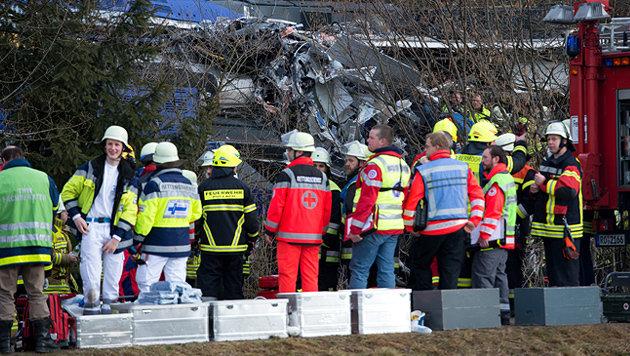 Menschliches Versagen f�hrte zu fatalem Zug-Crash (Bild: APA/dpa/Sven Hoppe)