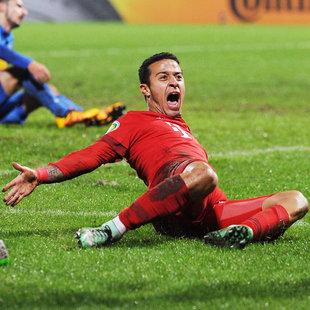 Bayern und Hertha BSC im DFB-Cup-Halbfinale (Bild: GEPA)