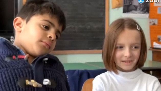 Kleinste Schule Italiens besuchen nur zwei Sch�ler (Bild: Zoomin.TV)