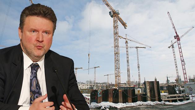 "Wohnbaustadtrat Michael Ludwig fordert ""schnellere Widmungsverfahren f�r den Wohnbau"". (Bild: Martin A. J�chl)"