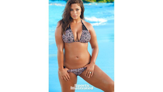 "Ashley Graham ist heuer auch als ""Swimsuit Issue""-Model zu sehen. (Bild: twitter.com/SI_swimsuit)"