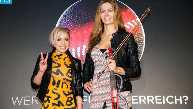 Farina Miss mit Celine Roscheck (Bild: ORF)