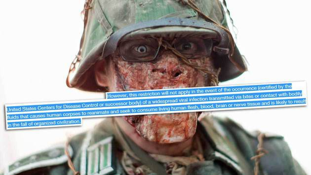 Amazon versteckt Zombie-Klausel in AGB (Bild: APA/GEORG HOCHMUTH, Amazon, krone.at-Grafik)