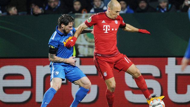 """Bochum tobt: """"Robben geht mir auf die Eier!"""" (Bild: GEPA)"""