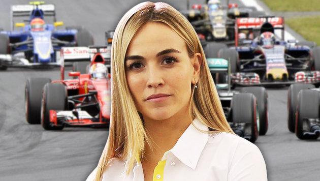 Erhält sie F1-Vertrag nur, weil sie schön ist? (Bild: GEPA, APA/HANS KLAUS TECHT)