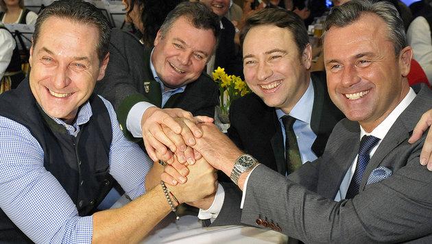 """""""Politischer Rechtsruck in Europa ist die Lösung"""" (Bild: APA/MANFRED FESL)"""