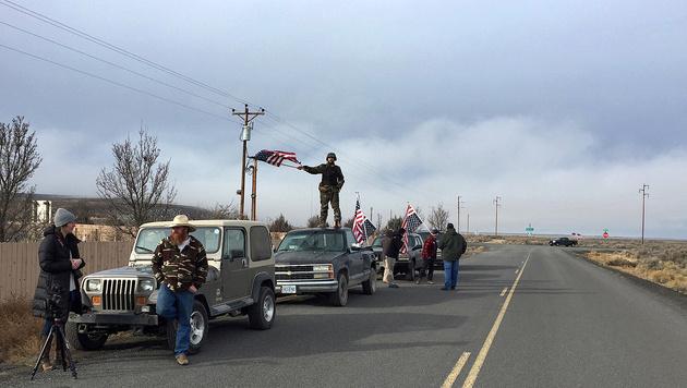 Naturpark besetzt: Freispruch für US-Miliz (Bild: Associated Press)