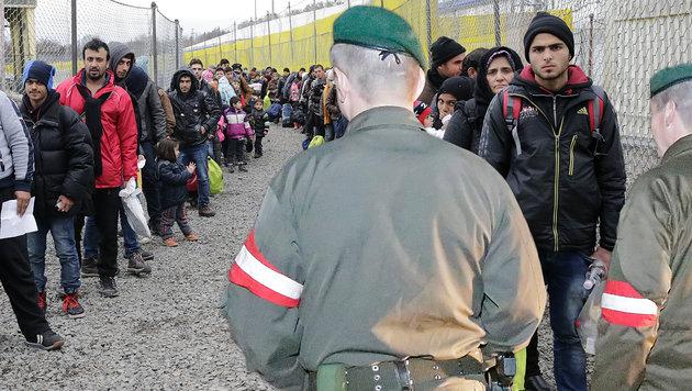 24 Stunden an der Grenze in Spielfeld (Bild: Klemens Groh)