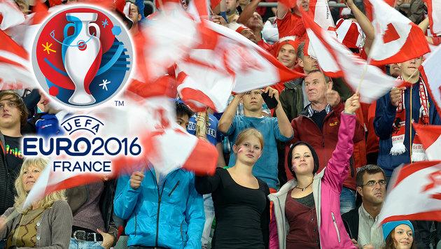 42 Prozent mehr EM-Tickets für ÖFB-Fans (Bild: APA/HERBERT NEUBAUER, UEFA)