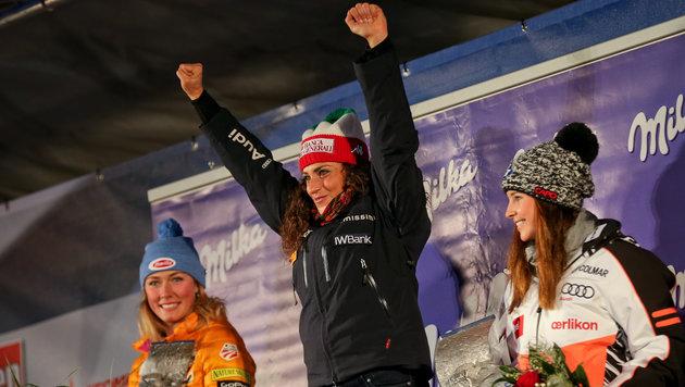 Federica Brignone gewann den Saisonauftakt in Sölden. (Bild: GEPA)