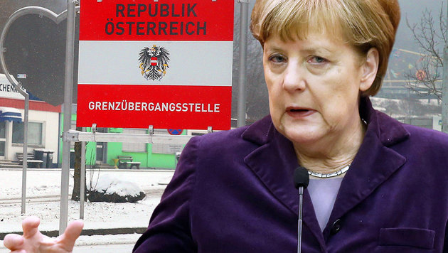 Deutschland schickt uns Tausende Migranten zur�ck (Bild: Sepp Pail, AFP)