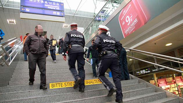 """""""Meine Tochter hat am Linzer Bahnhof Angst"""" (Bild: Christoph Gantner)"""