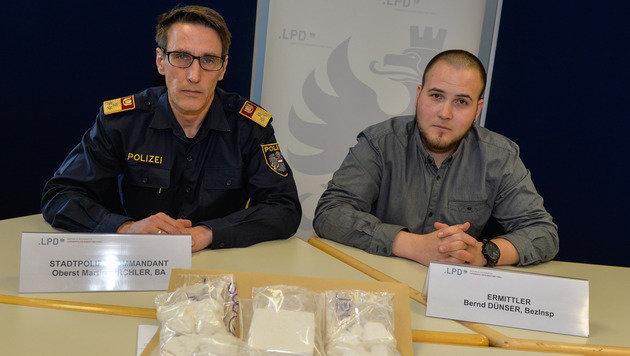 Quartett verkaufte Kokain um eine Million Euro (Bild: zeitungsfoto.at/Liebl Daniel)