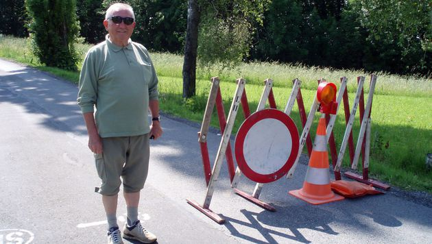 Der pensionierte Rechtsanwalt Viktor Zizek wurde nun enteignet. (Bild: APA/SILVIA SCHOBER)