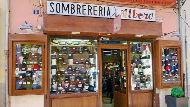 Schon seit anno 1820 hat dieser Hutladen geöffnet. (Bild: Karl Grammer)