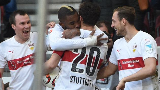 5. Sieg in Folge für Stuttgart, BVB gewinnt knapp (Bild: AP)