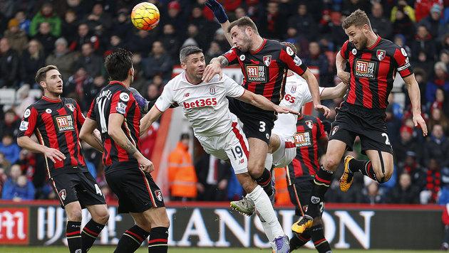 Manchester United blamiert sich in Sunderland! (Bild: AP)