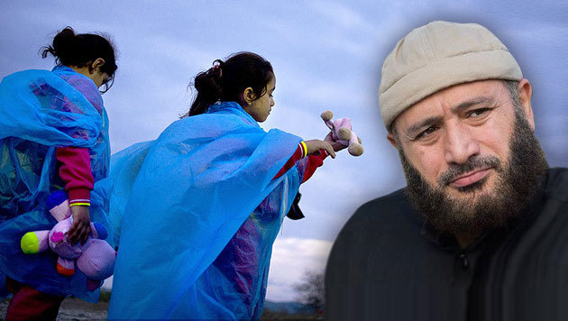 D�nischer Imam fordert Erlaubnis f�r Kinderehe (Bild: AFP, facebook.com)