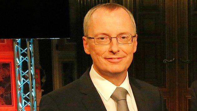 """""""Krone""""-Chefredakteur Klaus Herrmann (Bild: Martin Jöchl)"""
