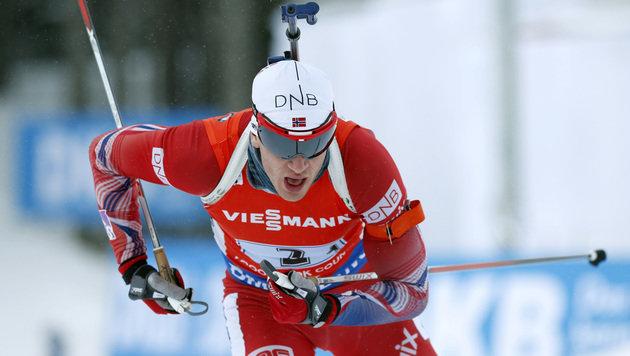 Johannes Thingnes Bö (Bild: AP)